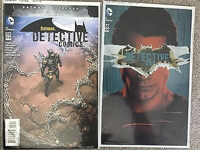 Detective Comics #50 standard & sealed Variant 1st Print - New 52 - DC