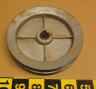 "Chicago Die Casting 500A pulley 5"" OD 5/8"" bore"