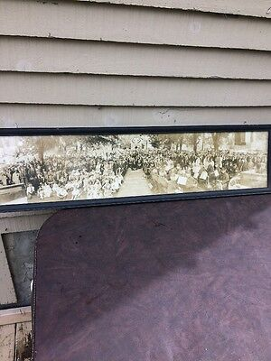 Antique Framed Photo Marlboro New Hampshire 1926. 150th Anniversary Old Home Day