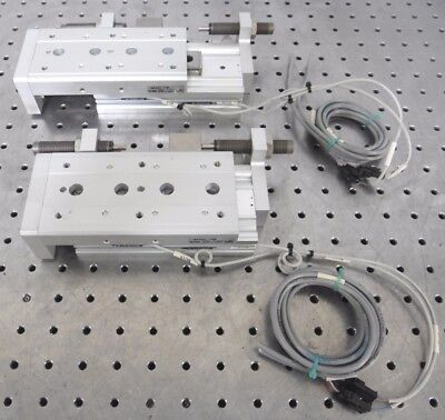 C139280 Lot 2 SMC MXS20-75B Air Cylinder Slide Table (20mm Bore, 75mm Stroke)