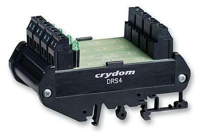 KIT DIN RAIL MOUNT FOR FOUR SSR - DRS4 (Fnl)