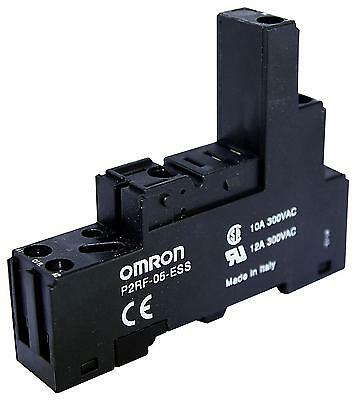 RELAY SOCKET DIN RAIL 5PIN - P2RF-05-ESS (Fnl)