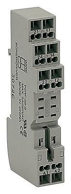 RELAY SOCKET 8P DIN RAIL SCREW CLAMP - P2RF-08-S (Fnl)
