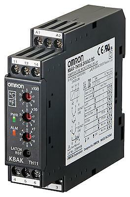 Temperature Monitoring Relay, K8AK Series, Thermocouple, RTD, 100 to 240 Vac, SP