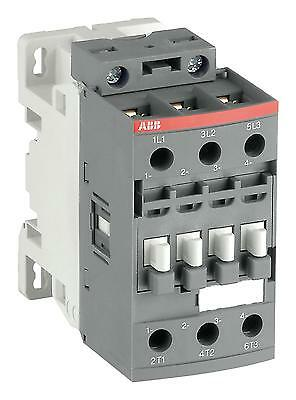 Contactor, AC/DC Operated, 33 A, DIN Rail, 690 V, 3PST-NO, 3 Pole, 15 kW
