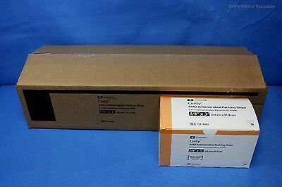 """Covidien 50 each Curity AMD Packing Strips 1/4"""" x 3' 7831AMD 2021 Dates"""