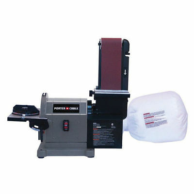 Porter-Cable 5 Amp 4 in. x 8 in. Bench Belt/Disc Sander PCB420SA New