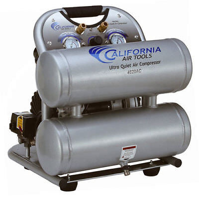 California Air Tools 4620AC 4 Gal. Aluminum Twin Compressor CAT-4620AC new