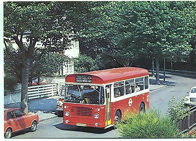London Transport BS type bus BS2 Hampstead to Cricklewood Broadway 1975 postcard