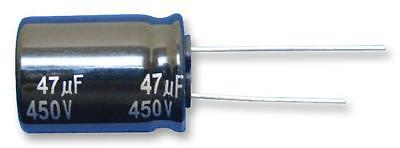 Electrolytic Capacitor, 47 µF, 160 V, EE Series, ± 20%, Radial Leaded, 10 mm
