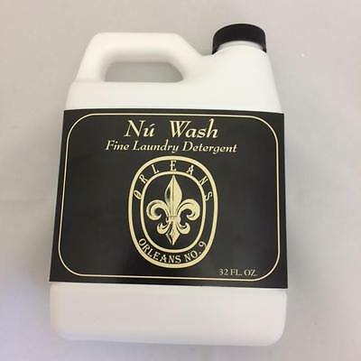 "Orleans Home Fragrance Nu Wash Fine Laundry Detergent ""No. 9""  32 Oz"