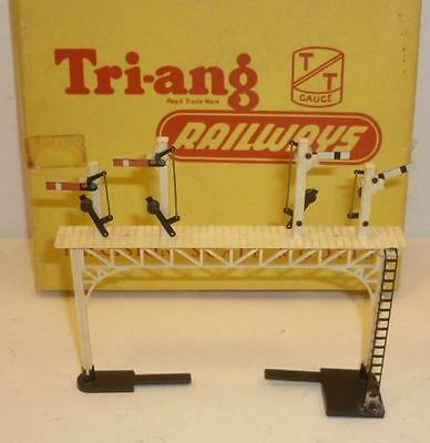 TRIANG TT gauge SEMAPHORE SIGNAL GANTRY - T140 - BOXED