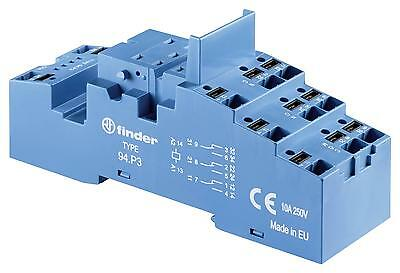 RELAY SOCKET DIN RAIL/PANEL 11PIN QC - 94P3SMA (Fnl)