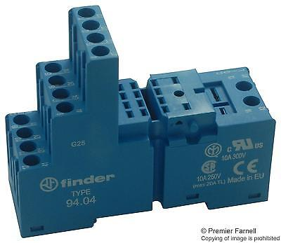 RELAY SOCKET DIN RAIL 250V 10A BLUE - 94 (Fnl)