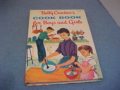Vintage 1957 Betty Crocker's Cook Book for Boys and Girls 1st Edition 5th Print