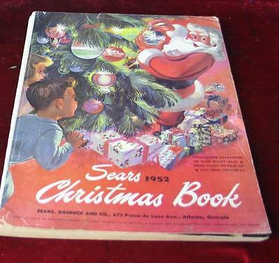 Vintage 1952 Sears Roebuck & Company Christmas Wishbook Catalog
