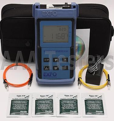 EXFO FOT-92AX-RS SM MM Fiber Optic Power Meter FOT-90 FOT-92AX FOT-92A FOT-90A