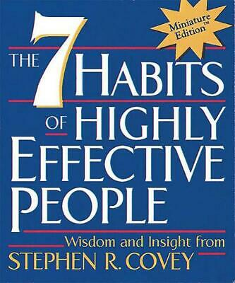 The 7 Habits of Highly Effective People - Mini edition by Stephen R. Covey (Engl