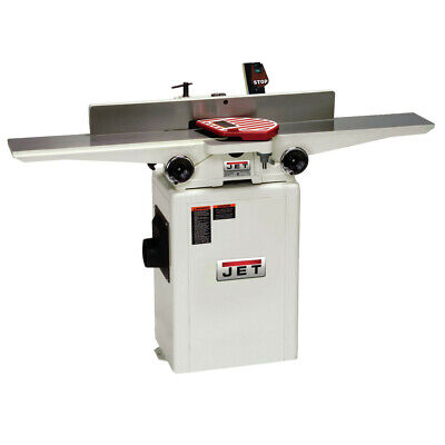 Jet 708466DXK 6 in. 1HP 1-Phase 27-Knife Helical Cutterhead Jointer New