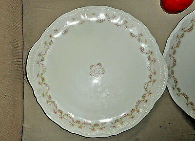 ANTIQUE THEODORE HAVILAND NEW YORK HUGE PLATTER TRAY LOUISE PATTERN #2 of 2