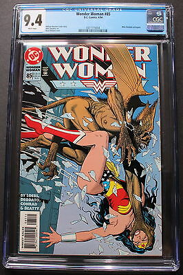 WONDER WOMAN #85 Brian Bolland GGA 1994 1st MIKE DEODATO & Begins CGC NM 9.4