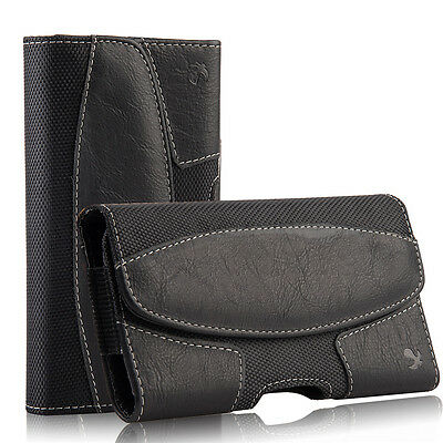 Leather Carrying Pouch Case Cover Belt Clip Holster For Samsung Galaxy S8 Plus