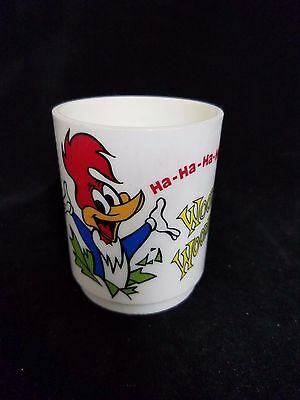 Vintage Woody Woodpecker Walter Lantz Productions Inc. Deca Plastic Mug USA made