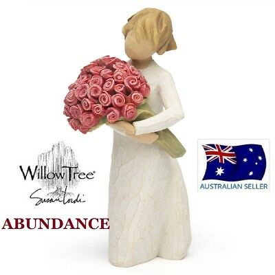 ABUNDANCE Demdaco Willow Tree Figurine By Susan Lordi BRAND NEW IN BOX