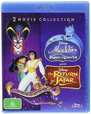 Aladdin: King Of Thieves / Return Of Jafar [New Blu-ray] Australia - Import