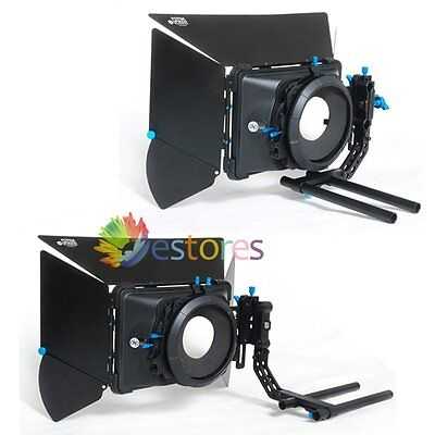 FOTGA DP3000 M3 Matte Box Swing Away Donut Sunshade Canon 5DII 5DIII Camera【UK】