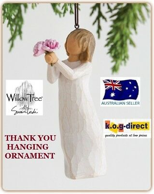 THANK YOU ORNAMENT Willow Tree Figurine By Susan Demdaco Lordi NEW IN BOX