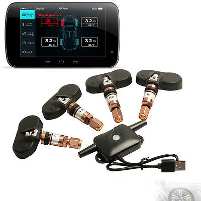 New TPMS Tire Pressure Monitoring System Internal Sensor For Android GPS Car DVD