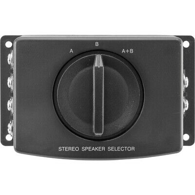 Ozstock Pro2 Pro1001 2 Way Stereo Speaker Switch A/ B/ A+B Selector