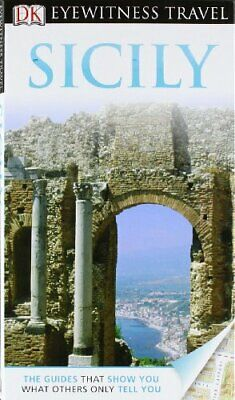 DK Eyewitness Travel Guide: Sicily, Collectif Hardback Book The Cheap Fast Free