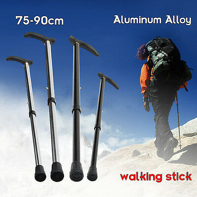 Adjustable Walking Cane Strong Aluminum Ergonomical Handle 29'' to 35'' Medical
