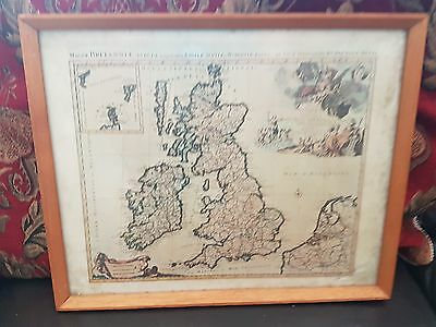 British Isses by Robert Jaillot  c 1700 Map