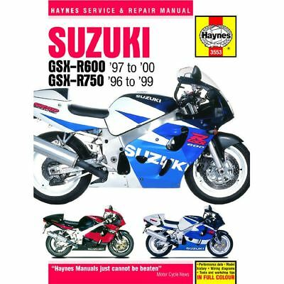 Manual Haynes for 1997 Suzuki GSX-R 750 V (SRAD) (L/C)
