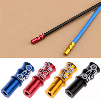 10Pcs Bike Cycling Bicycle Brake Derailleur Shifter Cable End Caps Crimps Tips