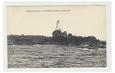 Jersey postcard - Corbiere Lighthouse