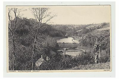 Jersey postcard - Waterworks Valley, Jersey