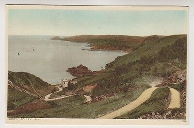 Jersey postcard - Bouley Bay