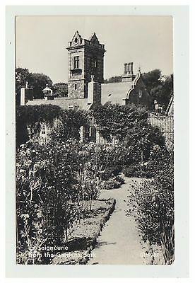 Sark postcard - La Seigneurie from the Gardens, Sark