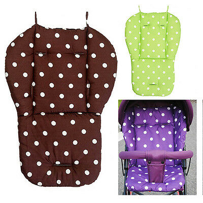 Newest Baby Stroller Seat Liner Highchair Mat Cushion Colorful Infant Car Seat