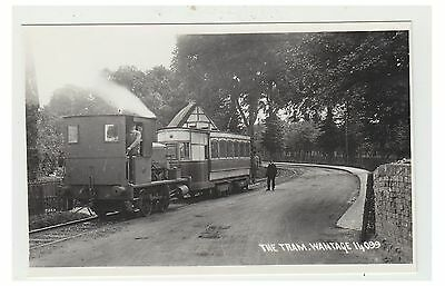 Berkshire postcard - The Tram, Wantage