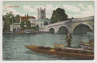 Berkshire postcard - Henley Bridge