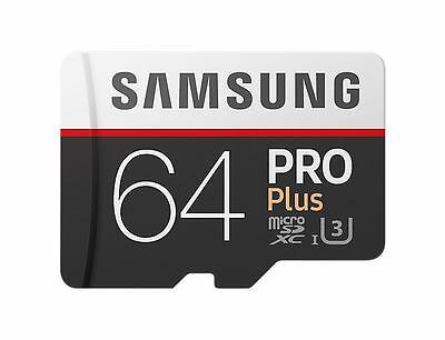 Samsung MB-MD64GA/EU - Flash Card 64GB Pro Plus Micro-SD w/a