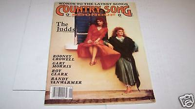1/1989 COUNTRY SONG ROUNDUP music magazine JUDDS