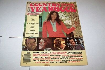 SPRING 1976 yearbook COUNTRY SONG ROUNDUP music magazine