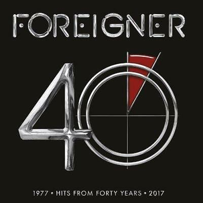 Foreigner - 40 (Hits 1977-2017) (NEW CD)