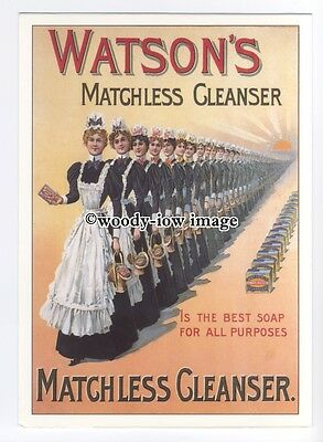 ad0814 - Watson's Cleanser - Soap For All Purposes -  Modern Advert Postcard